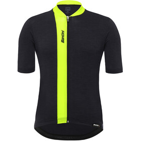 Santini Origine FZ SS Jersey Men flashy yellow